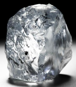 Petra Recovers 122 carat blue diamond