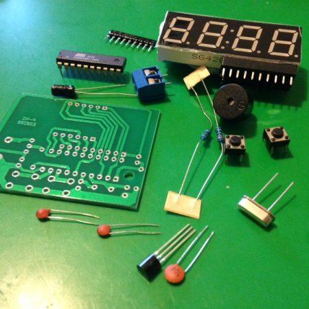 Kit Orologio-Sveglia LED CLAL01