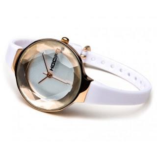 Orologio Hoops CL Dorato con vetro sfaccettato