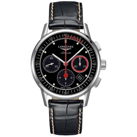 Orologio Longines Heritage Cronografo Automatico L47544524