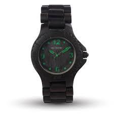 Orologio WeWood Kale Black/Green