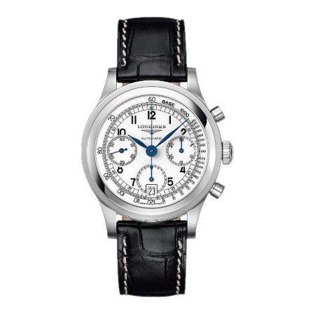 Orologio Longines Heritage Cronografo Automatico L27684130
