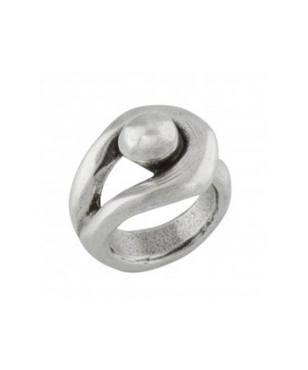 Anello UNOde50 argento Hopefully ANI0350MTL0000L