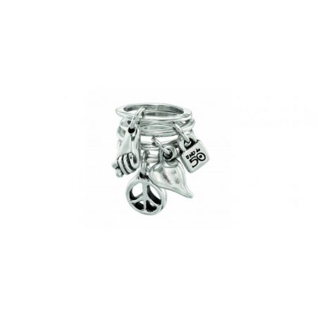Anello UNOde50 argento Lets go for it ANI0428MTL0000M