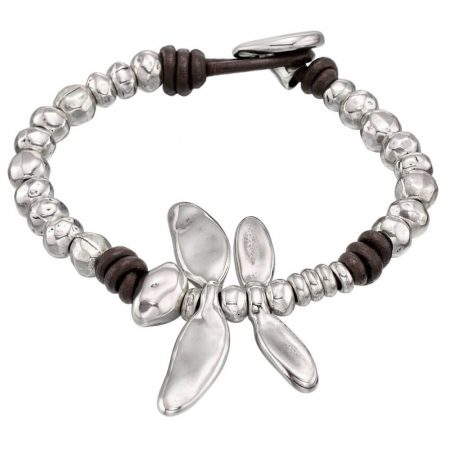 Bracciale UNOde50 argento Free Dragonfly PUL1367MTLMAR0M
