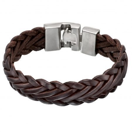 Bracciale UNOde50 argento Knitting PUL0007MARH