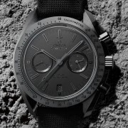 "Omega Dark side of the Moon ""black-black"""