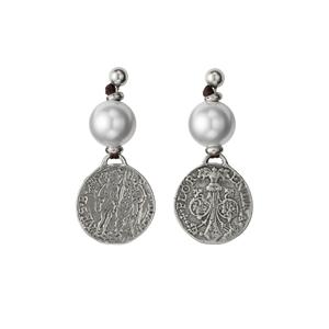 Orecchini UNOde50 argento Alexandria PEN0247PL