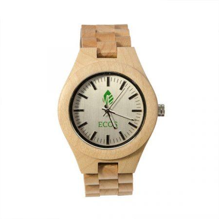 Orologio ECOS Watch EWC1 legno di Bamboo