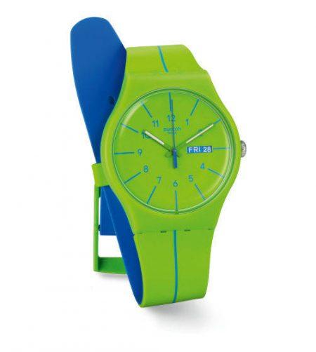 Orologio Swatch SUOG707 Verde Azul Originals