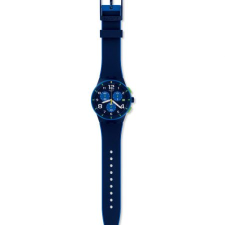 Orologio Swatch SUSN409 Bleu sur Bleu