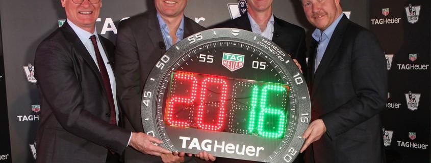 Tag-Heuer e Premier League, insieme
