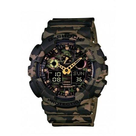 Orologio Casio g-Shock Multifunzione Camouflage GA-100CM-5AER