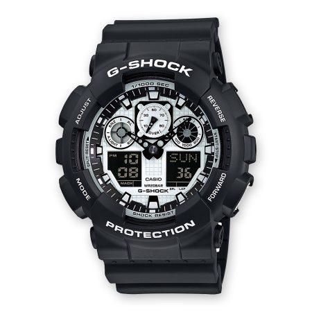 Orologio Casio g-Shock Multifunzione GA-100BW-1AER