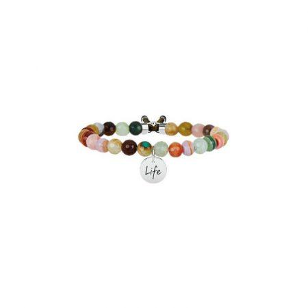 Bracciale Kidult Collezione Life Symbols Agata Marrone 231534
