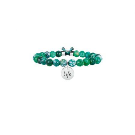 Bracciale Kidult Collezione Life Symbols Agata Verde 231530