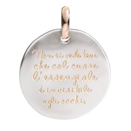 Queriot Moneta Oro e Argento 925 Non si vede...