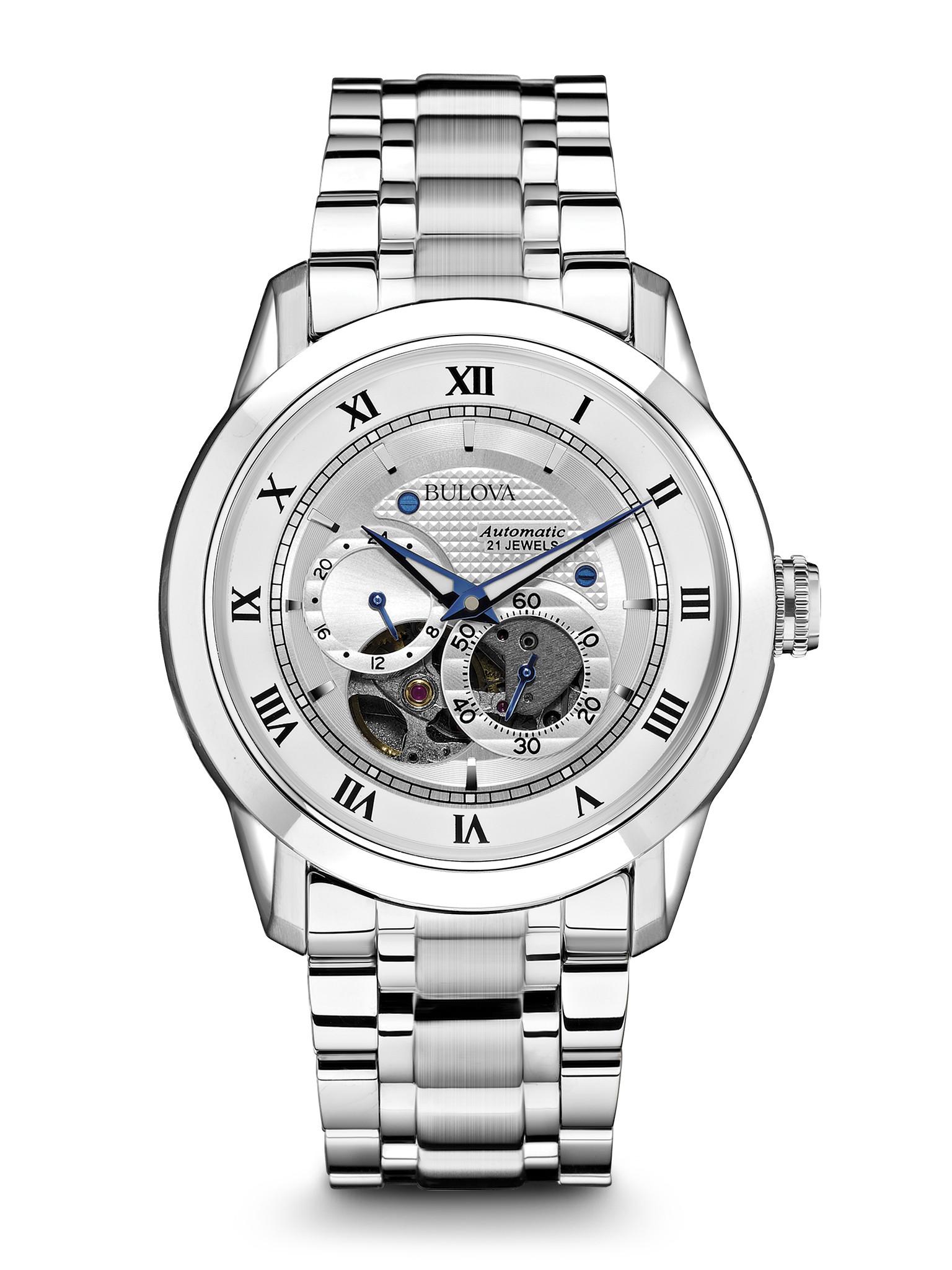 orologio bulova automatic 21 jewels