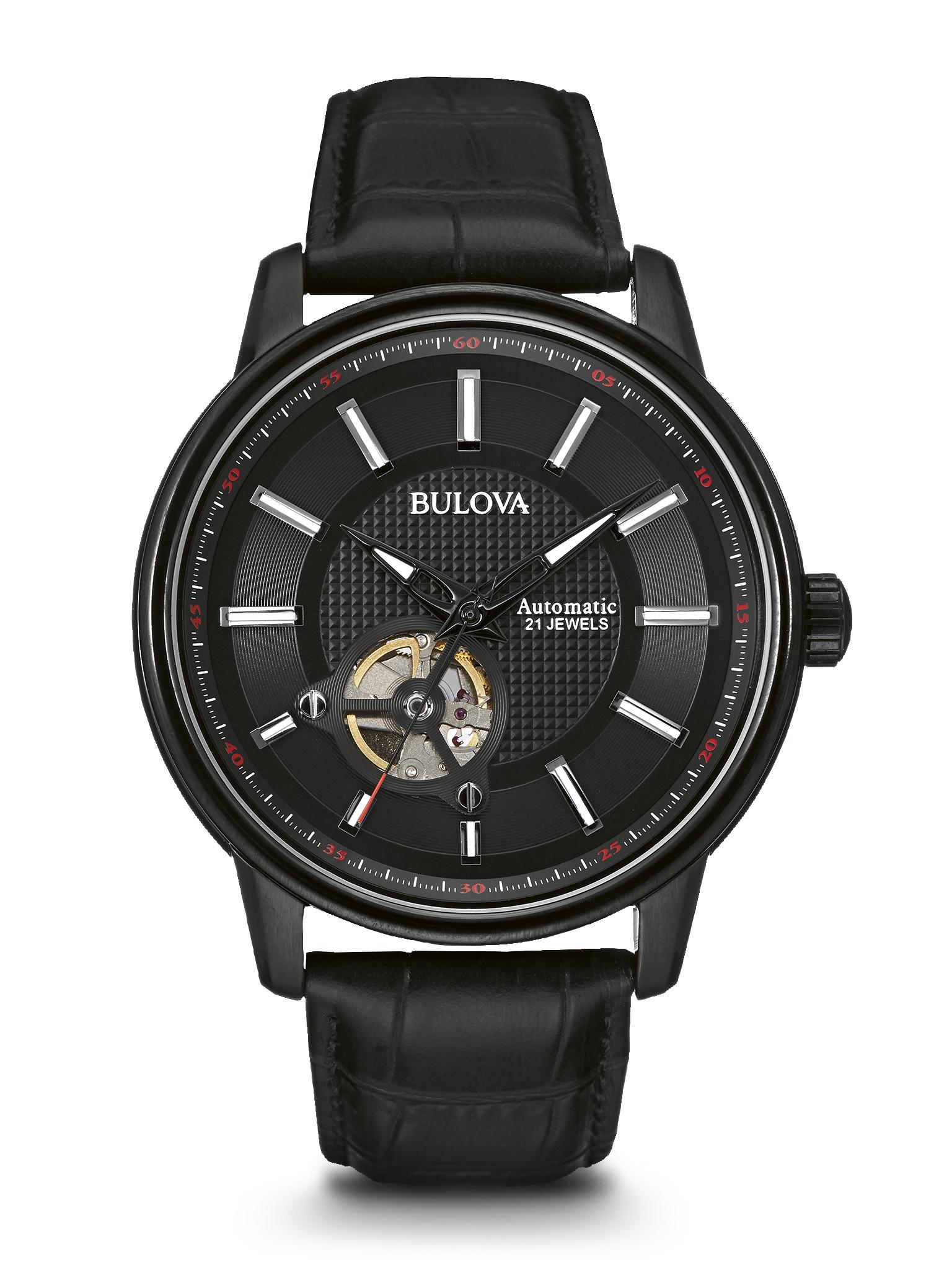 orologio bulova nero