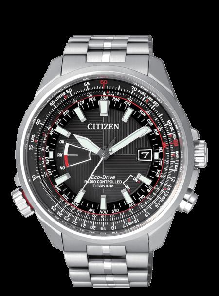 Orologio Citizen CB0140-58E Radiocontrollato Pilot Titanio Uomo