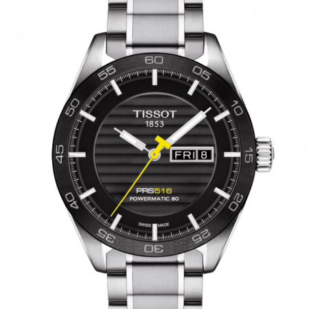 Orologio Tissot PRS 516 Powermatic 80 Day Date T1004301105100