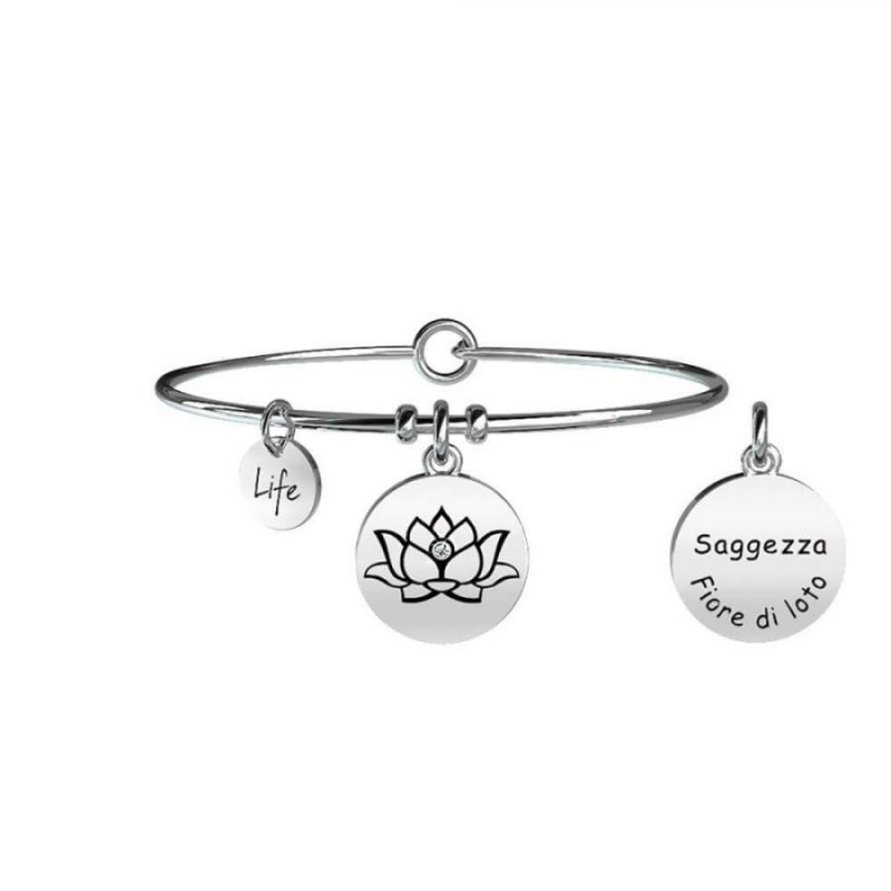 anello pandora fiore di loto