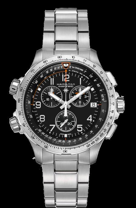 Orologio Hamilton X-Wind Gents Cronografo GMT Quarzo H77912135