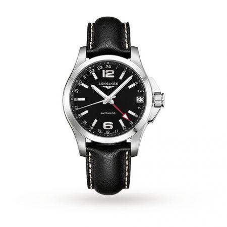 Orologio Longines Conquest GMT Automatico Acciaio Uomo L36874562