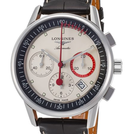 Orologio Longines Heritage Cronografo Automatico L47544724