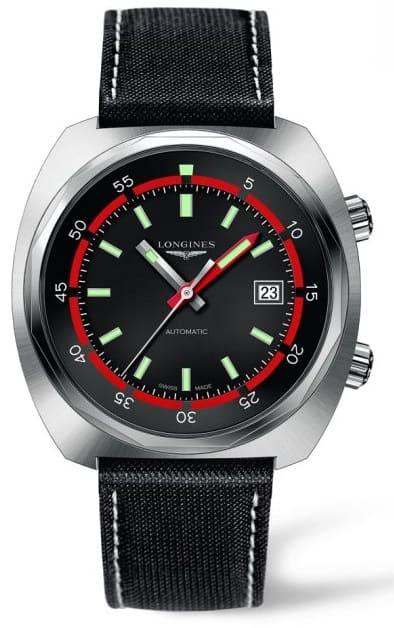 Orologio Longines Heritage Diver Automatico Acciaio L27954520