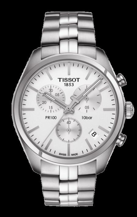 Orologio Tissot PR100 Cronografo Acciaio T1014171103100
