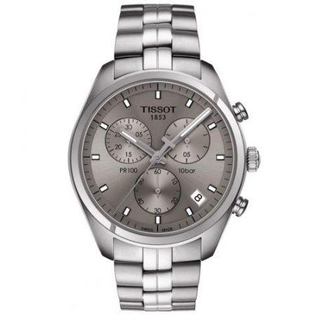 Orologio Tissot PR100 Cronografo Acciaio T1014171107100