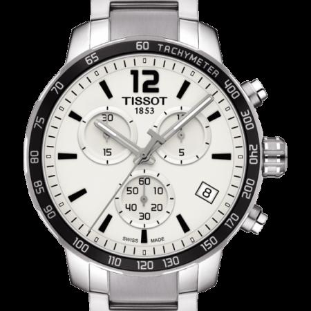 Orologio Tissot Quickster Cronografo Acciaio T0954171103700
