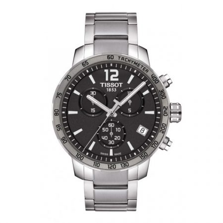 Orologio Tissot Quickster Cronografo Acciaio T0954171106700