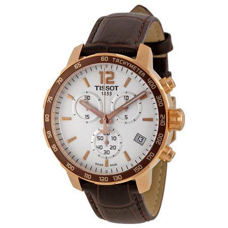 Orologio Tissot Quickster Cronografo PVD Dorato T0954173603700