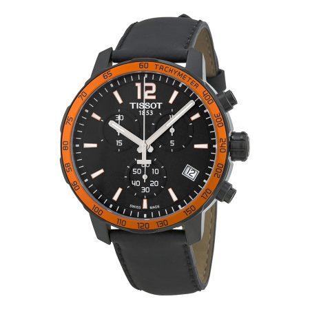 Orologio Tissot Quickster Cronografo PVD Nero T0954173605701