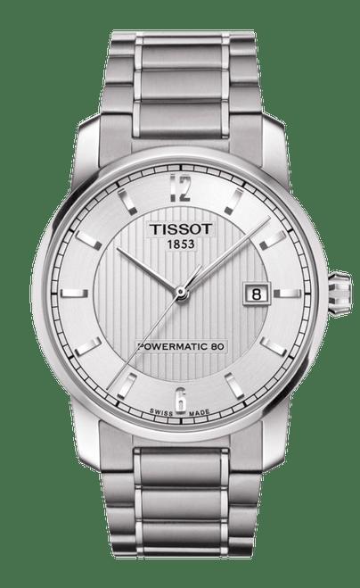 Orologio Tissot T-Classic Powermatic 80 Uomo Acciaio T0874074403700