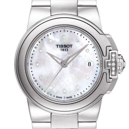 Orologio Tissot T-Lady Diamanti Acciaio Quarzo T0802106111600