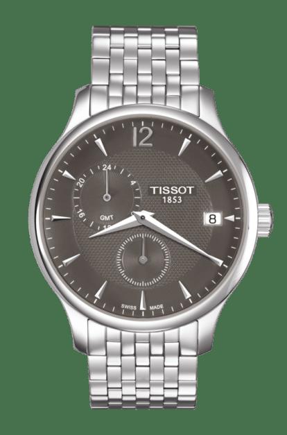 Orologio Tissot T-Tradition GMT Uomo Quarzo T0636391106700