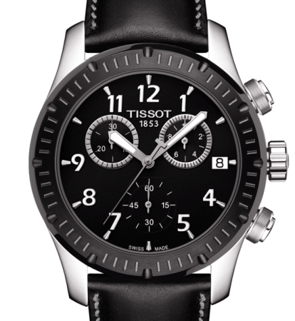 Orologio Tissot V8 Cronografo Quarzo T0394172605700