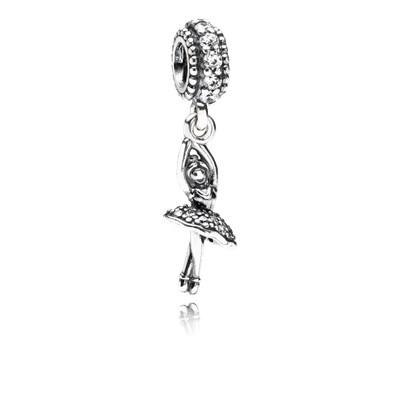Pandora Ballerina Charm Originale Argento 791365CZ