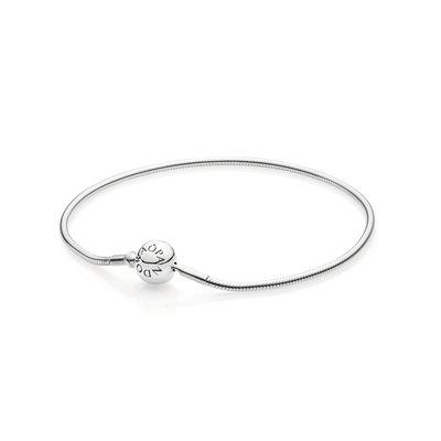 Pandora Bracciale Componibile Argento Misura 19 590728-19