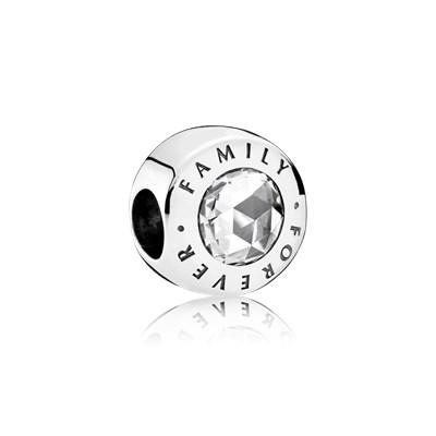 Pandora Charm Famiglia Per Sempre Originale Argento 791884CZ