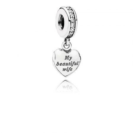 Pandora Charm La Mia Bellissima Moglie Originale 791524CZ