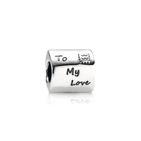 Pandora Charm Lettera d'Amore Originale Argento 790894EN09