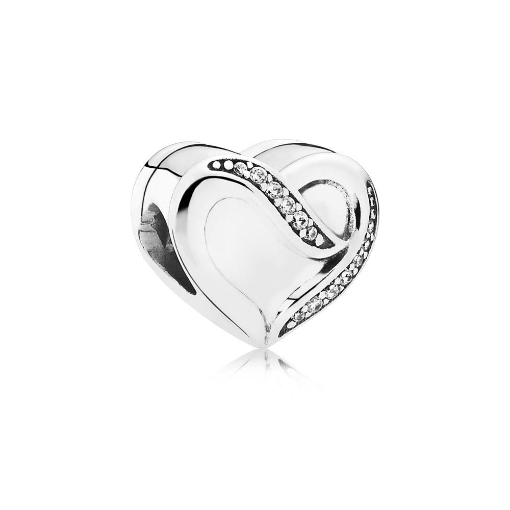 anello nastro d'amore pandora
