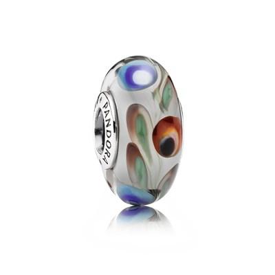 Pandora Charm Originale Vetro di Murano 791614