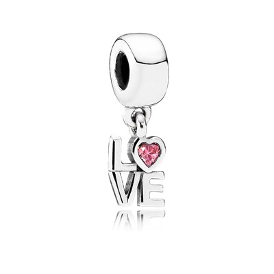 Pandora Charm con Pendente Love Originale Argento 791253czs