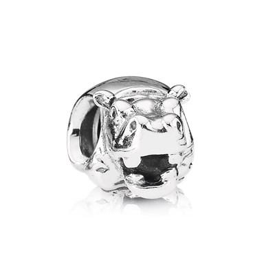 Pandora Ippopotamo Charm Originale Argento 790334