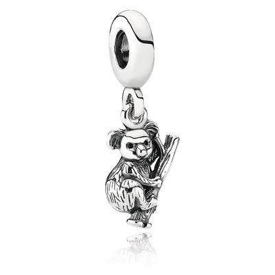 Pandora Koala Pendente Charm Originale Argento 791085